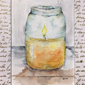 Ejournal Candle